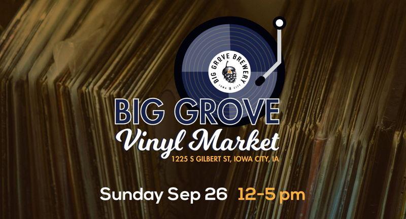 Big Grove Brewery Vinyl Market