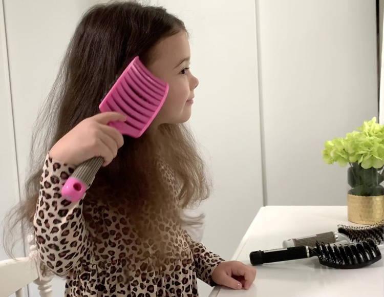brosse démêlante pour cheveux afro, démêlage des cheveux épais, brosse en poils de sanglier en nylon, meilleur peigne démêlant