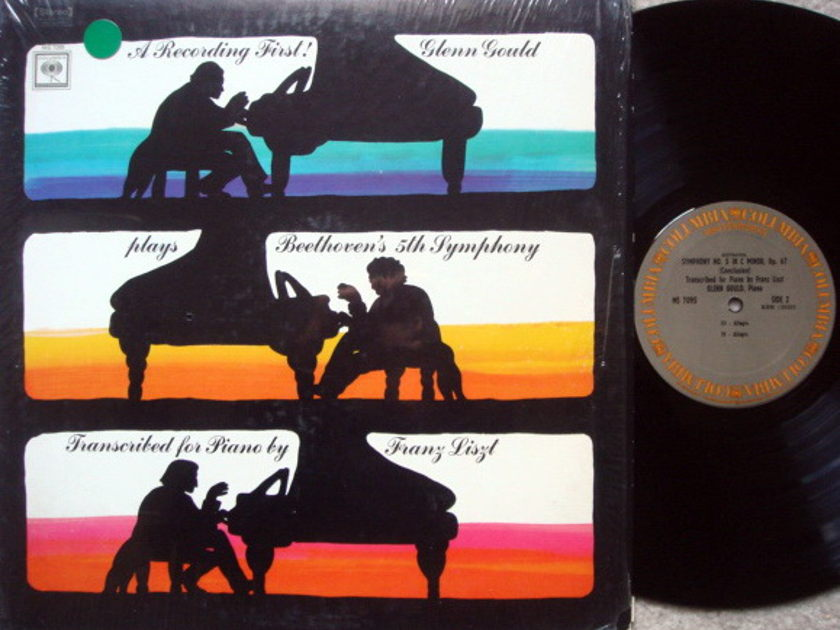 Columbia / GLENN GOULD, - Beethoven Symphony No.5 Piano Version, MINT!