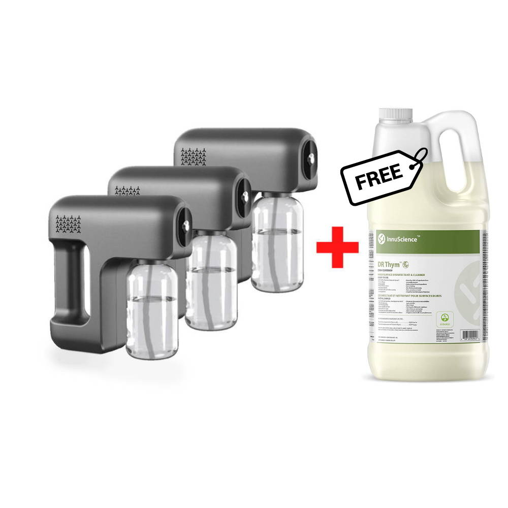 virus fogger sterilization spray machine microban disinfectant spray