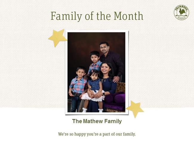 Mathew Family