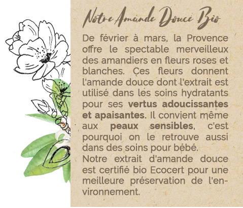Notre Amande douce Bio - Mademoiselle Provence