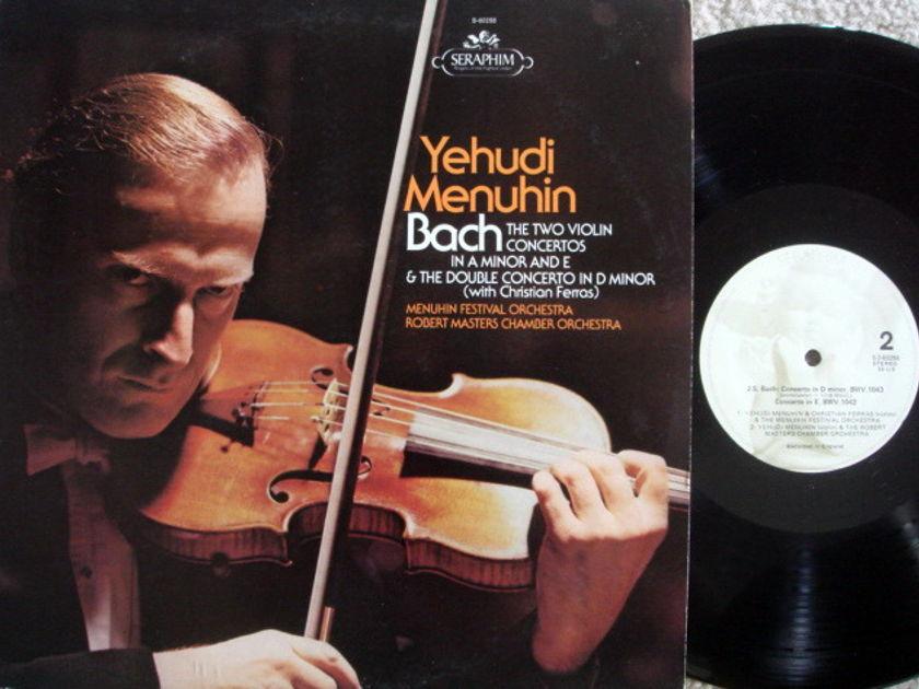 EMI Angel Seraphim / MENUHIN-FERRAS,  - Bach Two Violin Concertos, MINT!