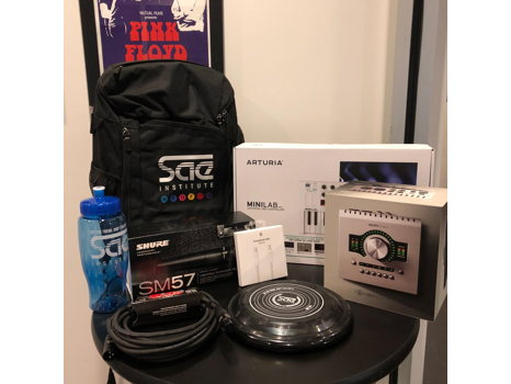 Audio Engineering Gear Package from SAE Institute
