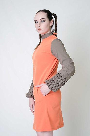 Платье трансформер с рукавами буфами