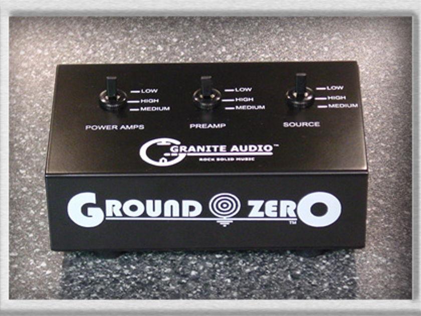 Granite audio Ground Zero eliminate your ground loops
