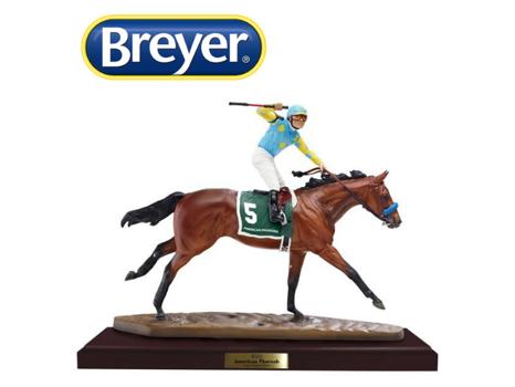 Breyer American Pharoah Resin Horse Model