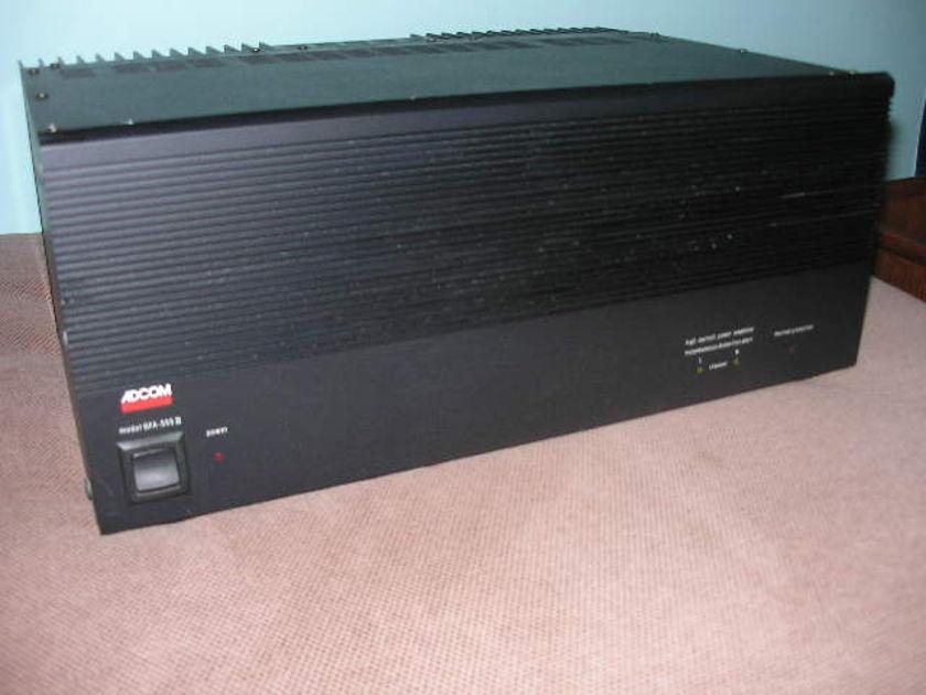 ADCOM GFA-555II Power Amp - 200 Watts per Channel