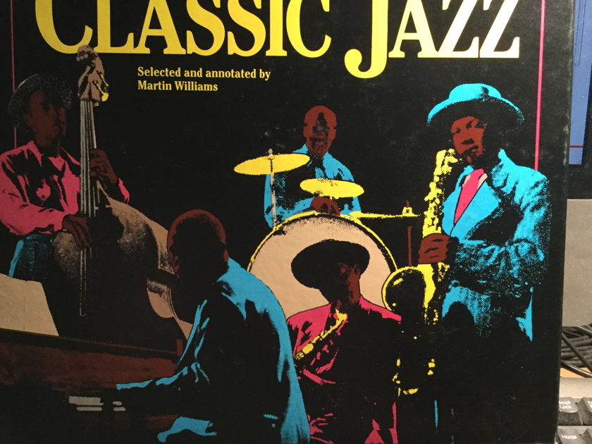 SMITHSONIAN COLLECTION OF JAZZ -  5 CD VARIES JAZZ ARTIST