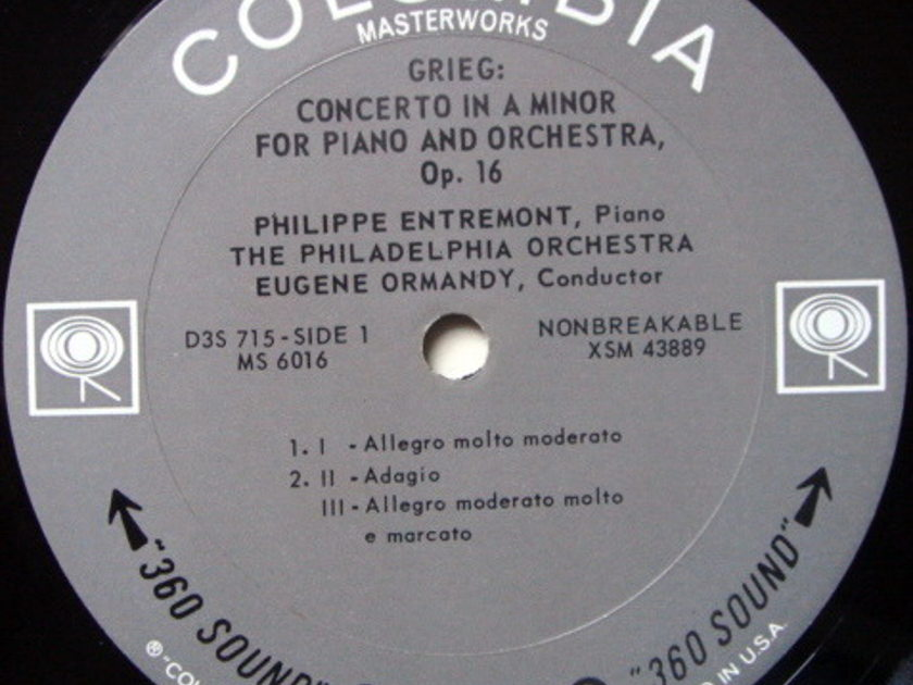 Columbia 2-EYE / ENTREMONT-ORMANDY-BERNSTEIN, - Great Romantic Piano Concertos, MINT, 3LP Box Set!