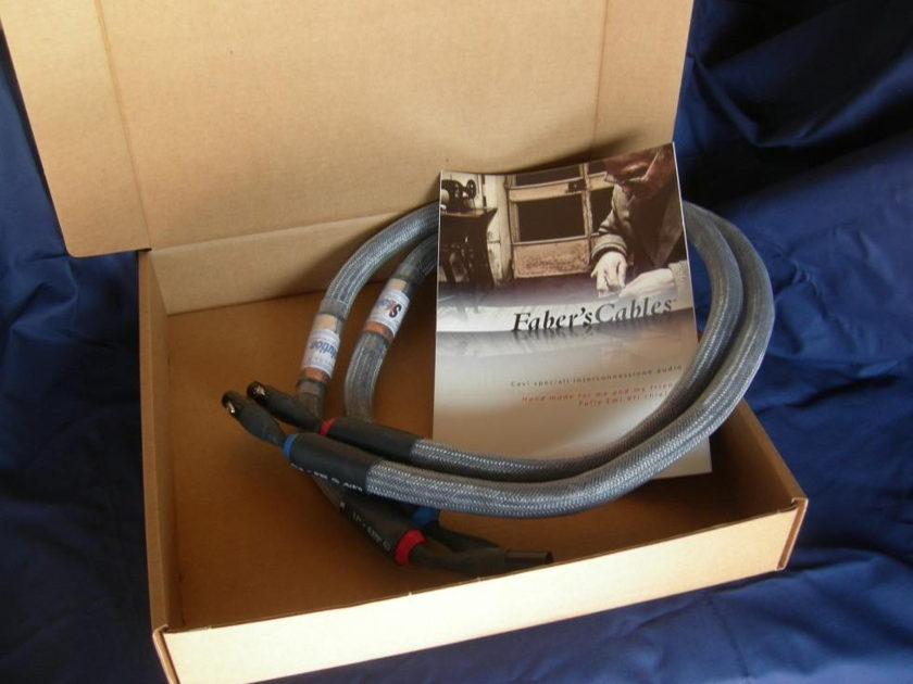 Faber's Cables' SXSolution XLR Hand made for me and my friend