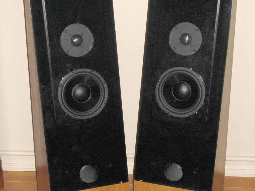 Thiel CS1.2 speakers Beautiful Blond Oak
