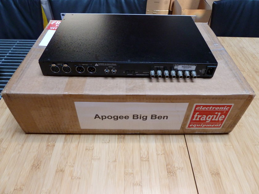 Apogee Big Ben Master Clock