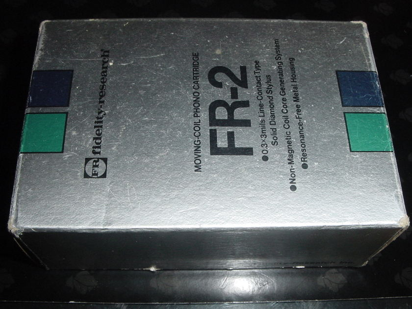 Fidelity Research FR-2 complete package prefect LOMC cartridge low output rare classic