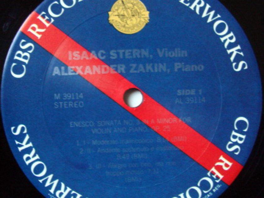 Columbia / STERN-ZAKIN, - Enesco Violin Sonata No.3, NM, Promo Copy!