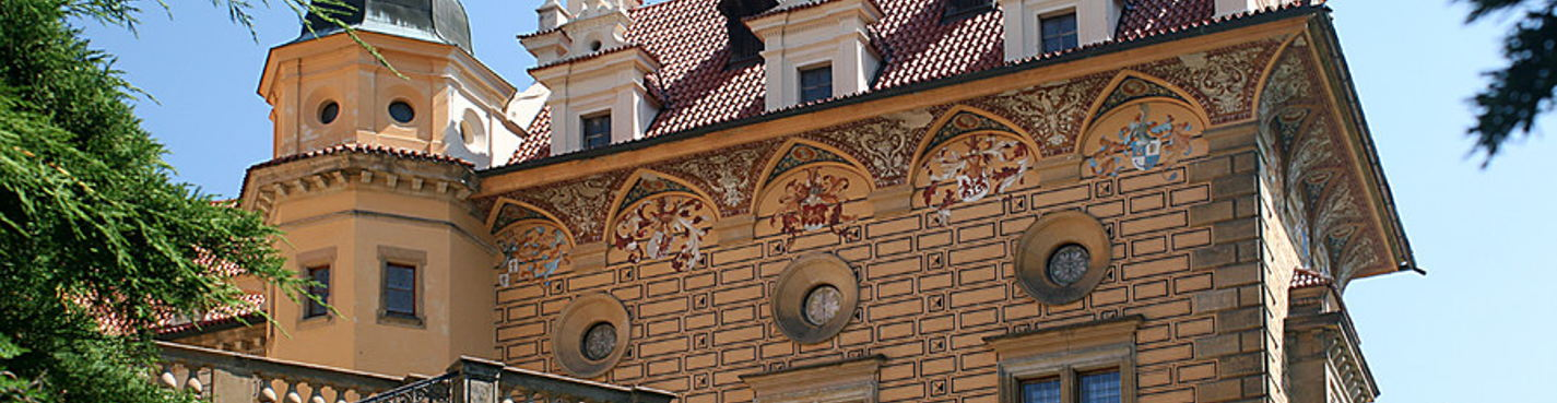 Атмосферный туризм. Поездка шестнадцатая: сады Праги — замок Пругонице и ботанический сад Троя