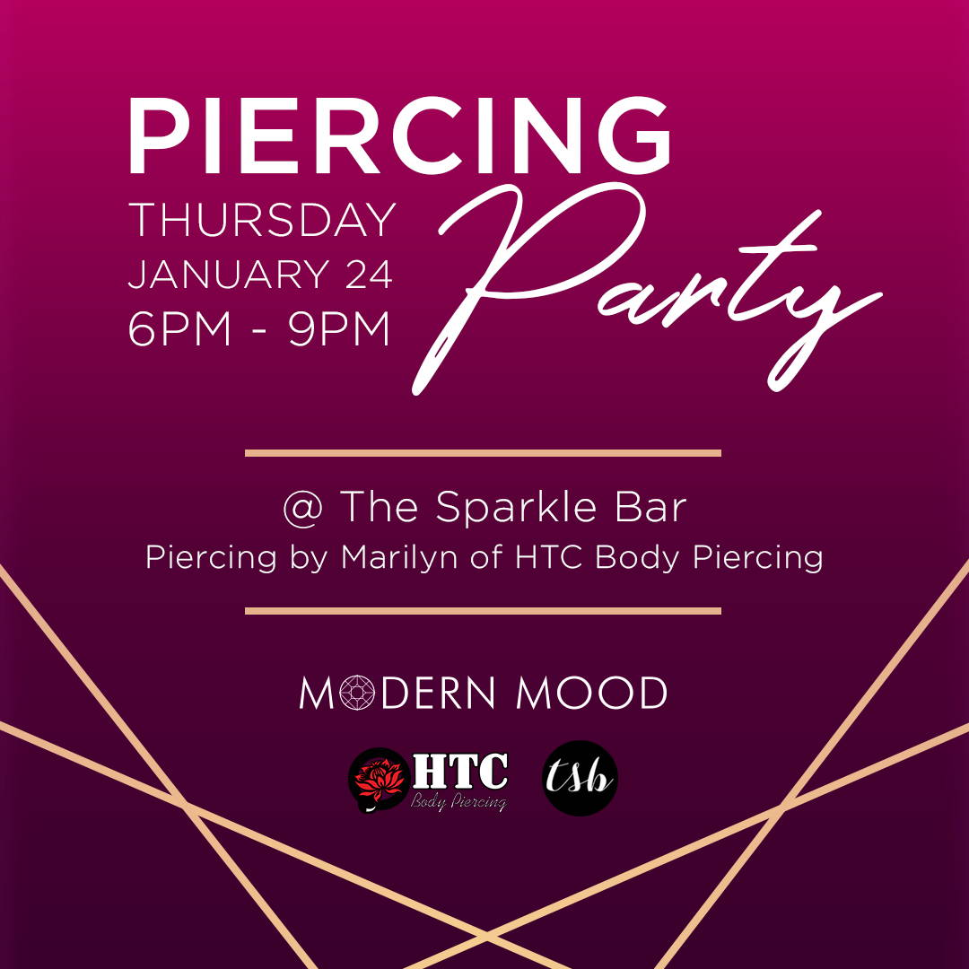 Piercing Party at The Sparkle Bar