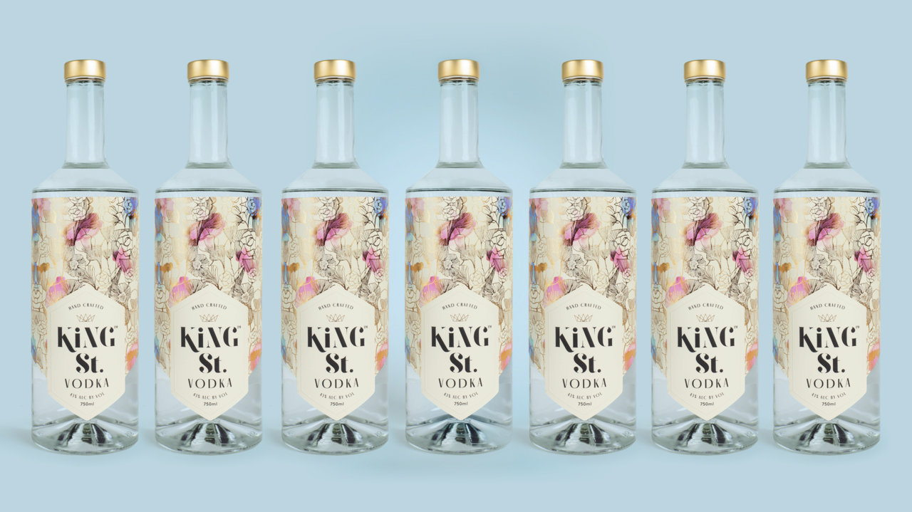 Kate Hudson's Vodka King St. Is Best Served With Company