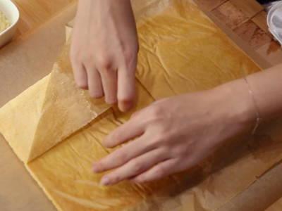 Shape baked swiss roll