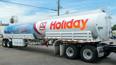 Holiday Gas Tanker Wrap