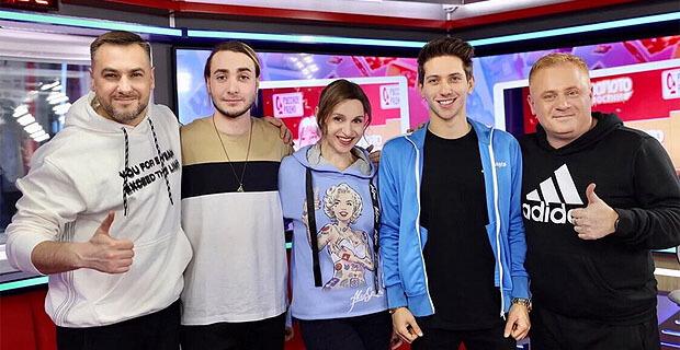 ЮрКисс & SAM PIKAR стали гостями утреннего шоу «Русские Перцы» на «Русском Радио» - Новости радио OnAir.ru