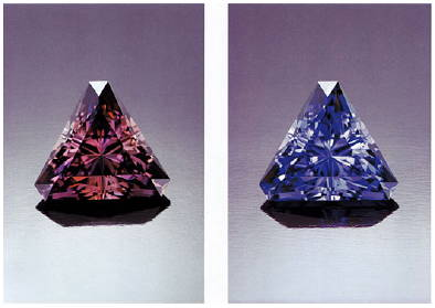 What does tanzanite look like yves lemay jewelry