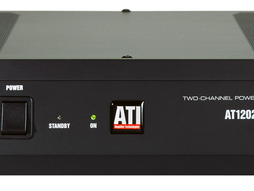 ATI AT1202 2 x 120w Power Amplifier