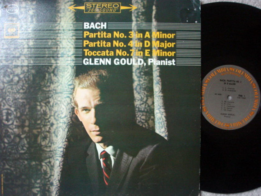 Columbia / GLENN GOULD, - Bach Partitas No.3, 4 & 7, MINT!