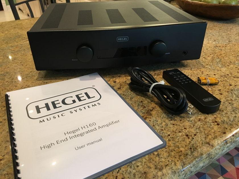 Hegel H160 Integrated Amp - Black