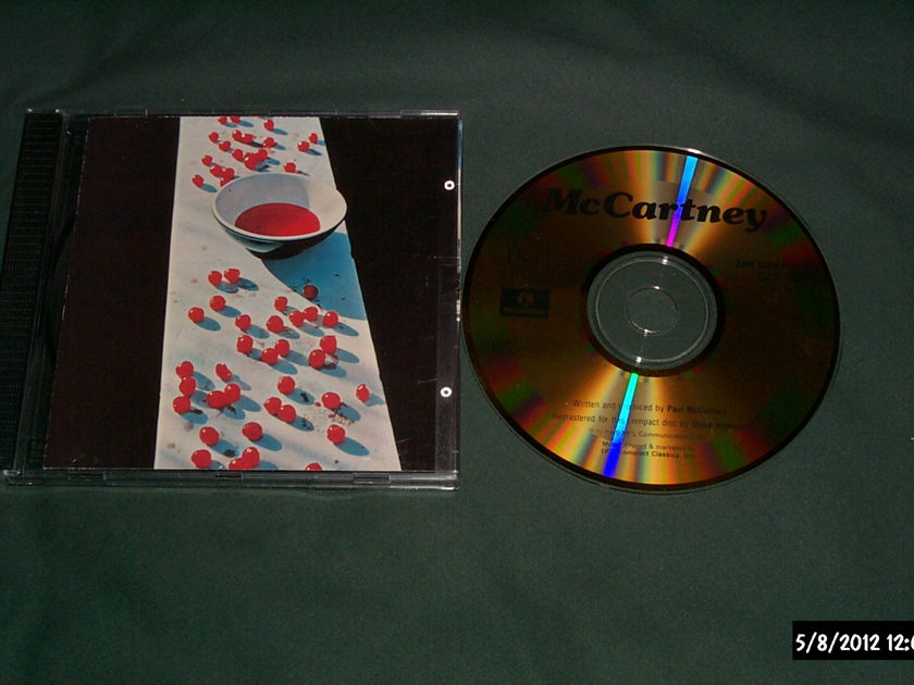 Paul Mccartney - McCartney dcc gold disc japan