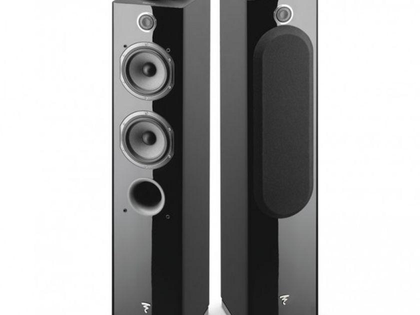 Focal Easya Powered Wireless 2-1/2 Way Floor-Standing Speakers