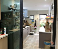spazio-art-contemporary-modern-malaysia-selangor-dry-kitchen-wet-kitchen-interior-design