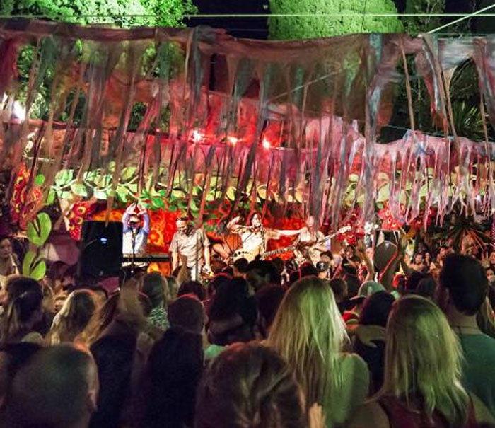 Recinto hippie las Dalias Ibiza, eventos y conciertos y fiestas