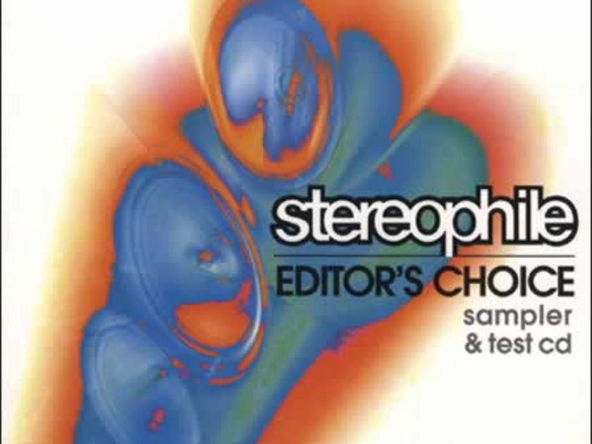 Stereophile Editor'S - Choice Sampler & test cd, sealed!