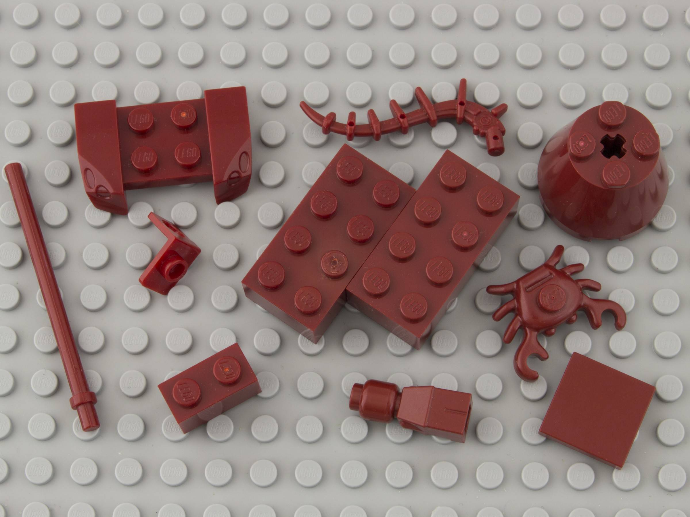 154—Dark Red lego