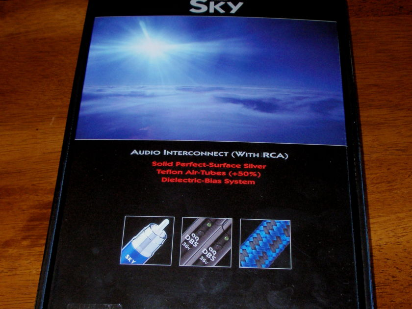 Audioquest  Sky .75 meter with box free shipping