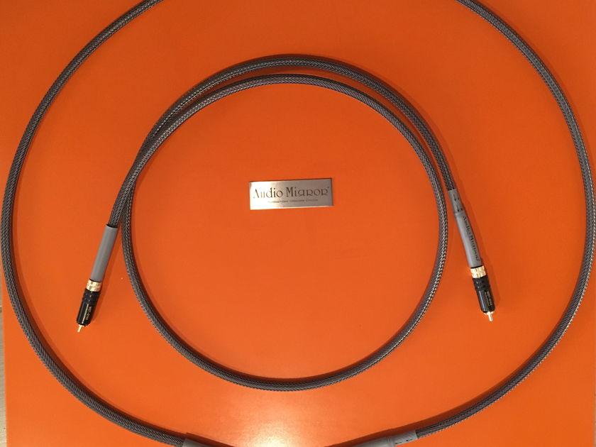 Audio Mirror  silver interconnects 1.5meter