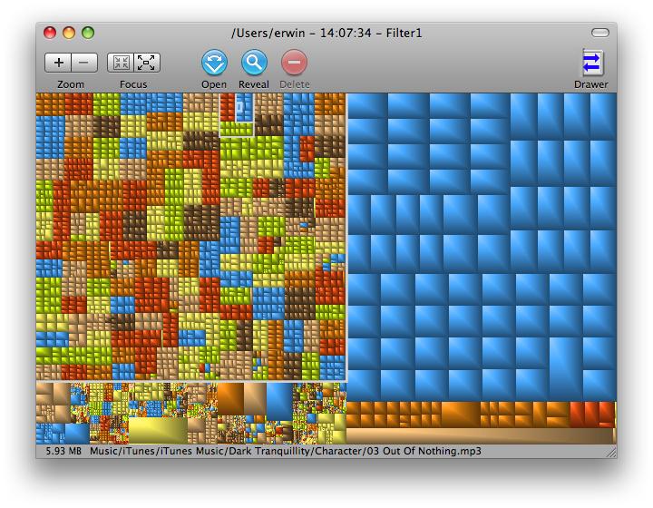 mac disk space usage visualizer