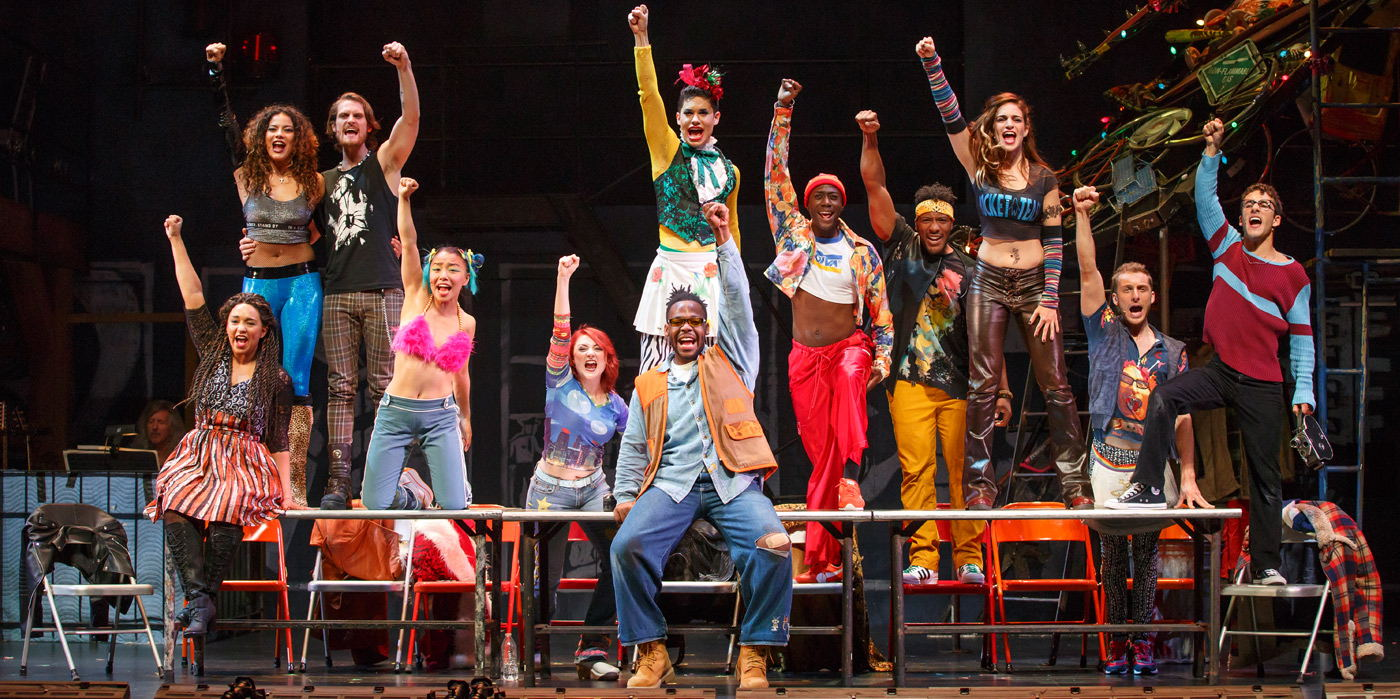 Rent at the Shubert Theatre