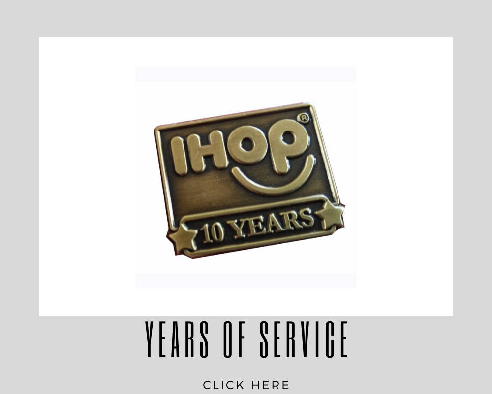 corporate years of services custom lapel pins