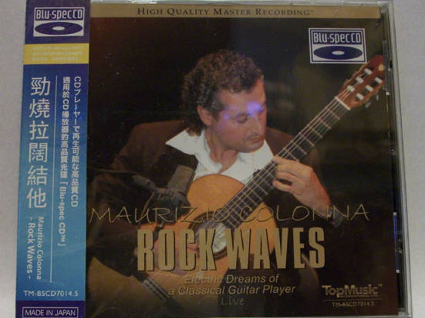 Maurizio Colonna ¨C - Rock Waves live guitar, top music cd, new