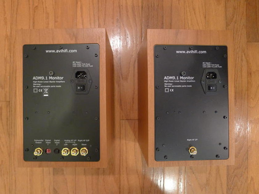 AVI  ADM 9.1  Active Speakers & DAC