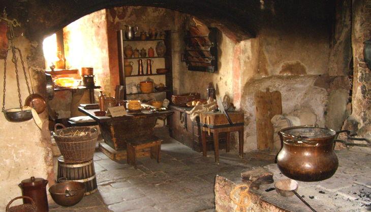 burg ronneburg alte burgküche