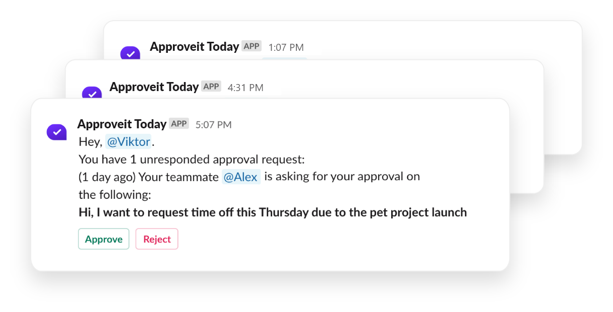 Approveit Today for managers