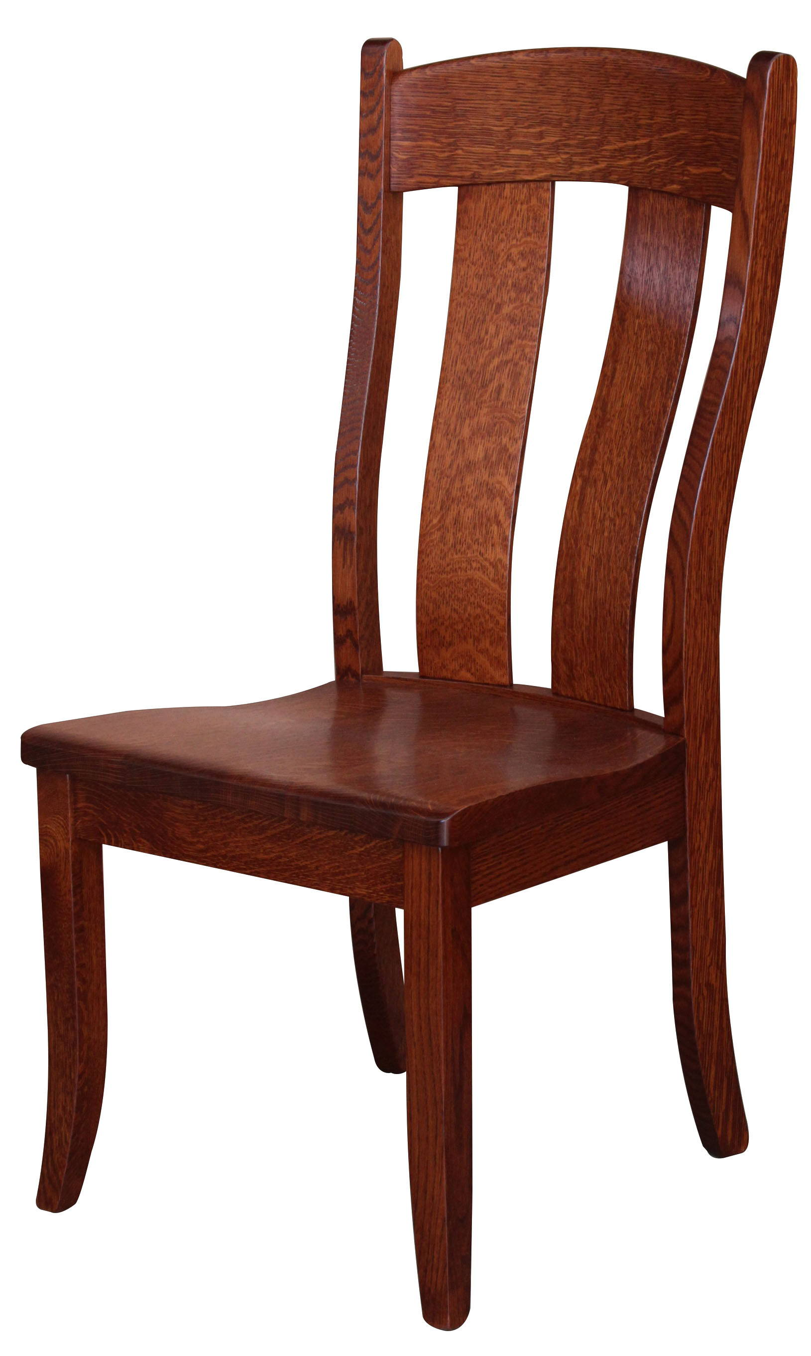 Austin Solid Wood, Handcrafted Kitchen Chair or DIning Chair from Harvest Home Interiors Amish Furniture