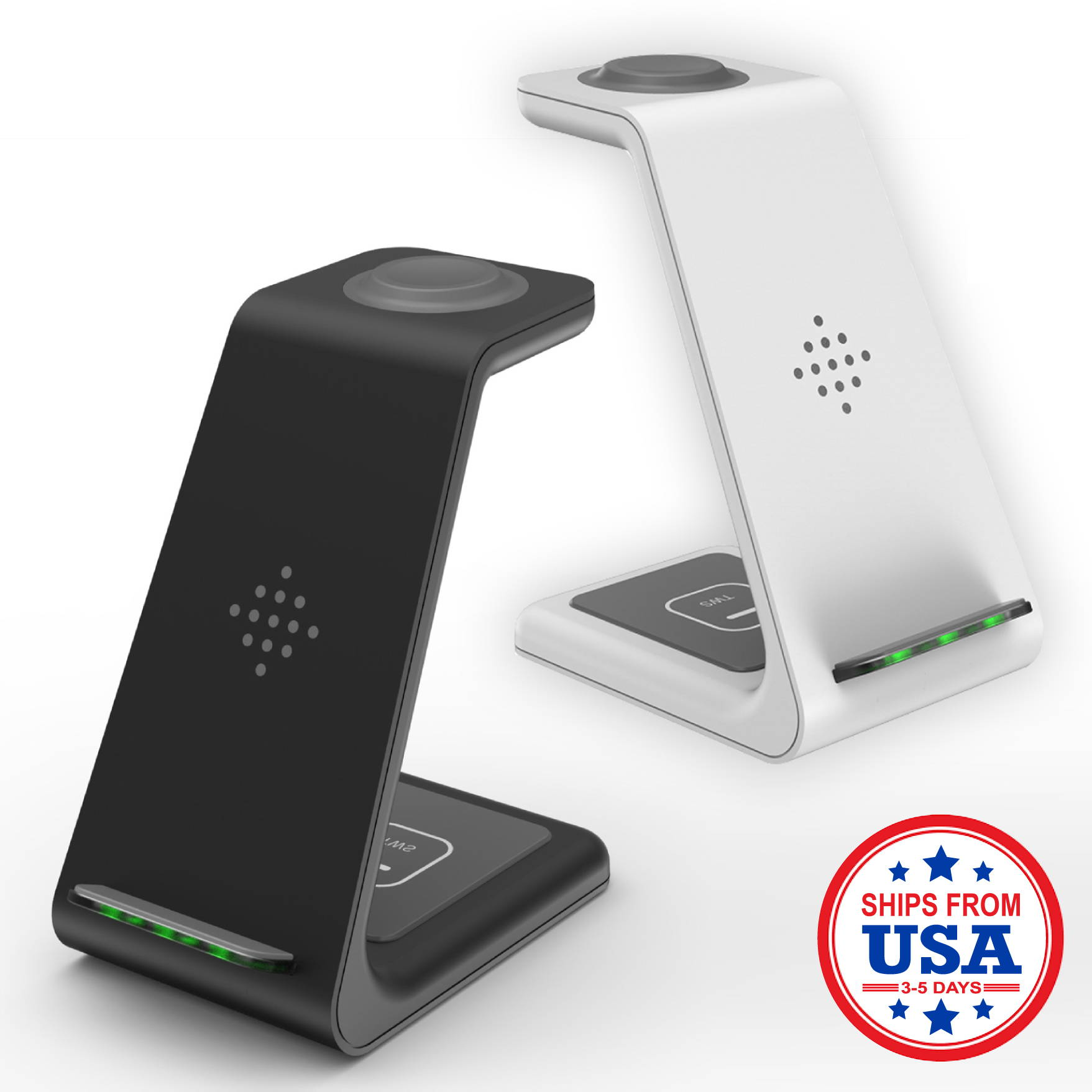 Univolt® 3 in 1 Fast Wireless Charging Station Stand For Apple/Android
