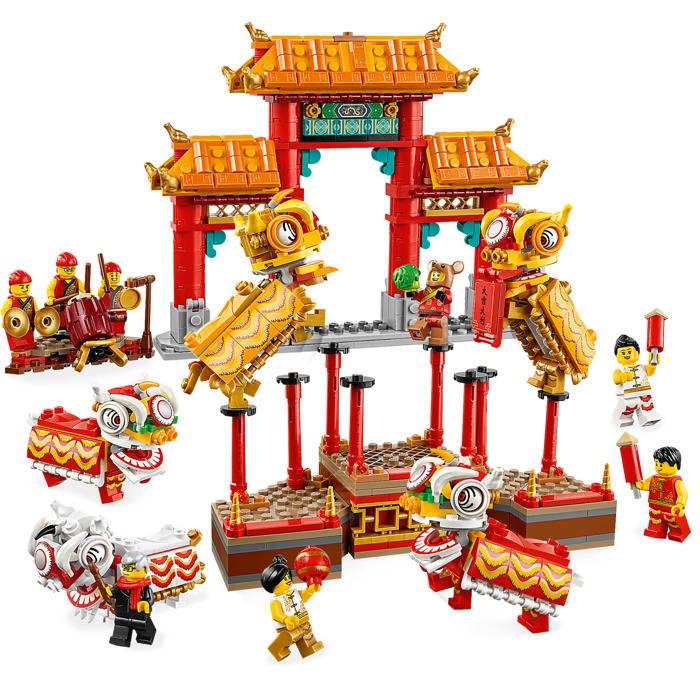 LEGO Lion Dance 80104