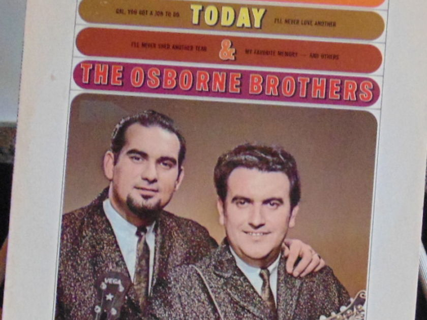 The Osborme Brothers - Yesterday Today & The Osborne Bros Near Mint To Mint
