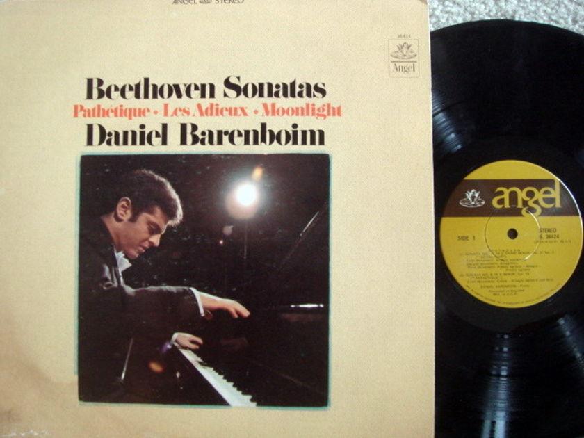 EMI Angel / BARENBOIM,  - Beethoven Piano Sonatas Moonlight,  NM-!