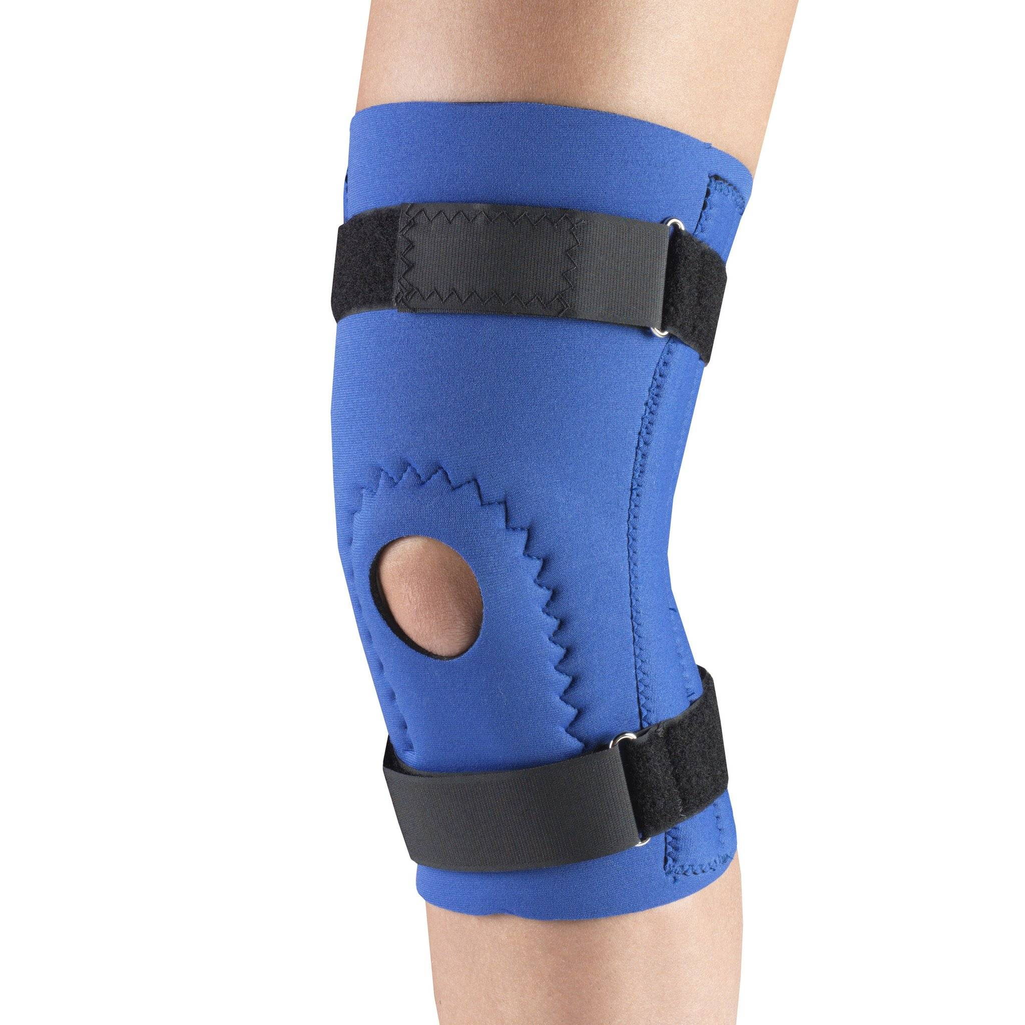 0144 / NEOPRENE KNEE SLEEVE - HOR-SHU PAD, SPIRAL STAYS